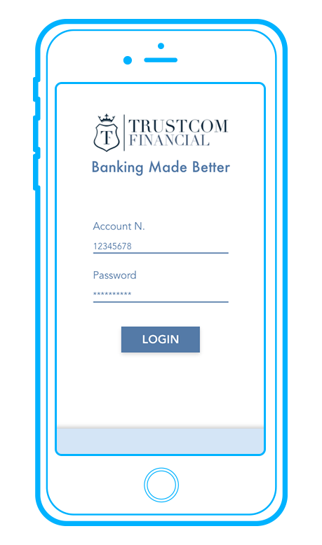 Open a bank account online: it's easy and fast with Trustcom Financial