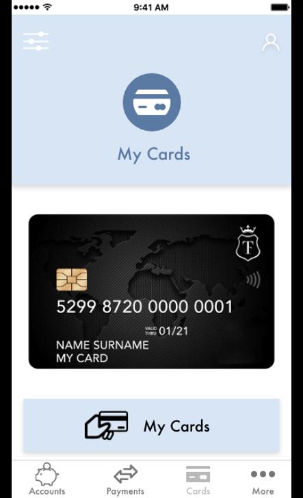 Gestisci la tua carta di debito da mobile - Trustcom Financial