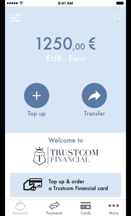 Consulta le informazioni del tuo conto online da mobile